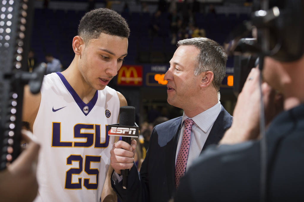 LSU, Ben Simmons defeat Ole Miss, 90-81