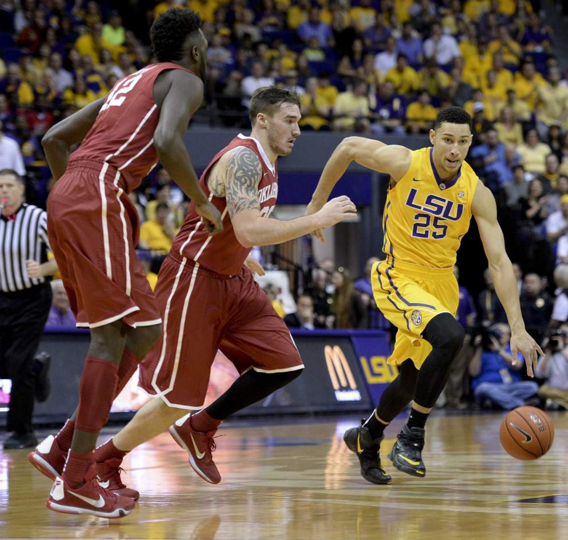 LSU falls 75-77 to No. 1 Oklahoma in heartbreaking fashion