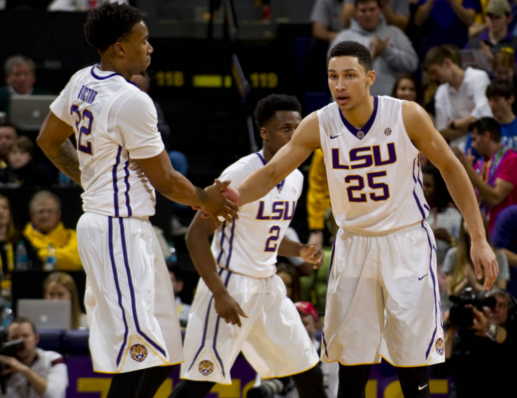 LSU defeats Mississippi State, 88-77, to take sole possession of first place in SEC