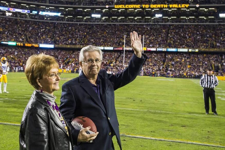 Saying a Heartfelt Goodbye to LSU Legend Jim Hawthorne.