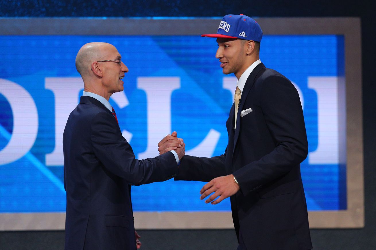 Ben Simmons goes 1st in the 2016 NBA Draft
