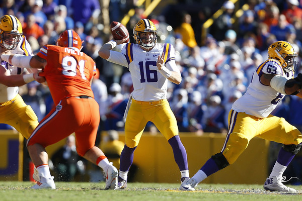 LSU one yard short of victory in 16-10 loss to Florida