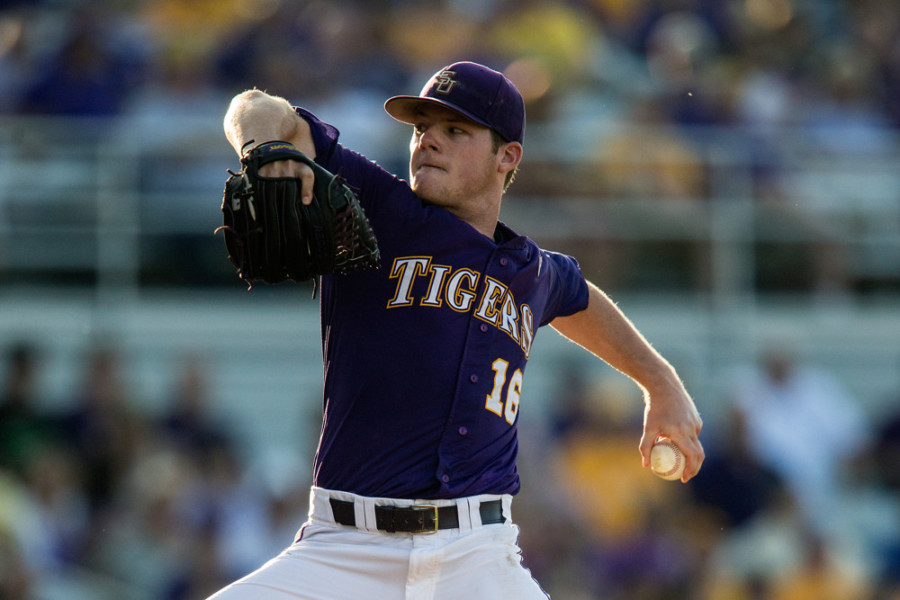 Jared Poche throws first no-hitter for LSU since 1979