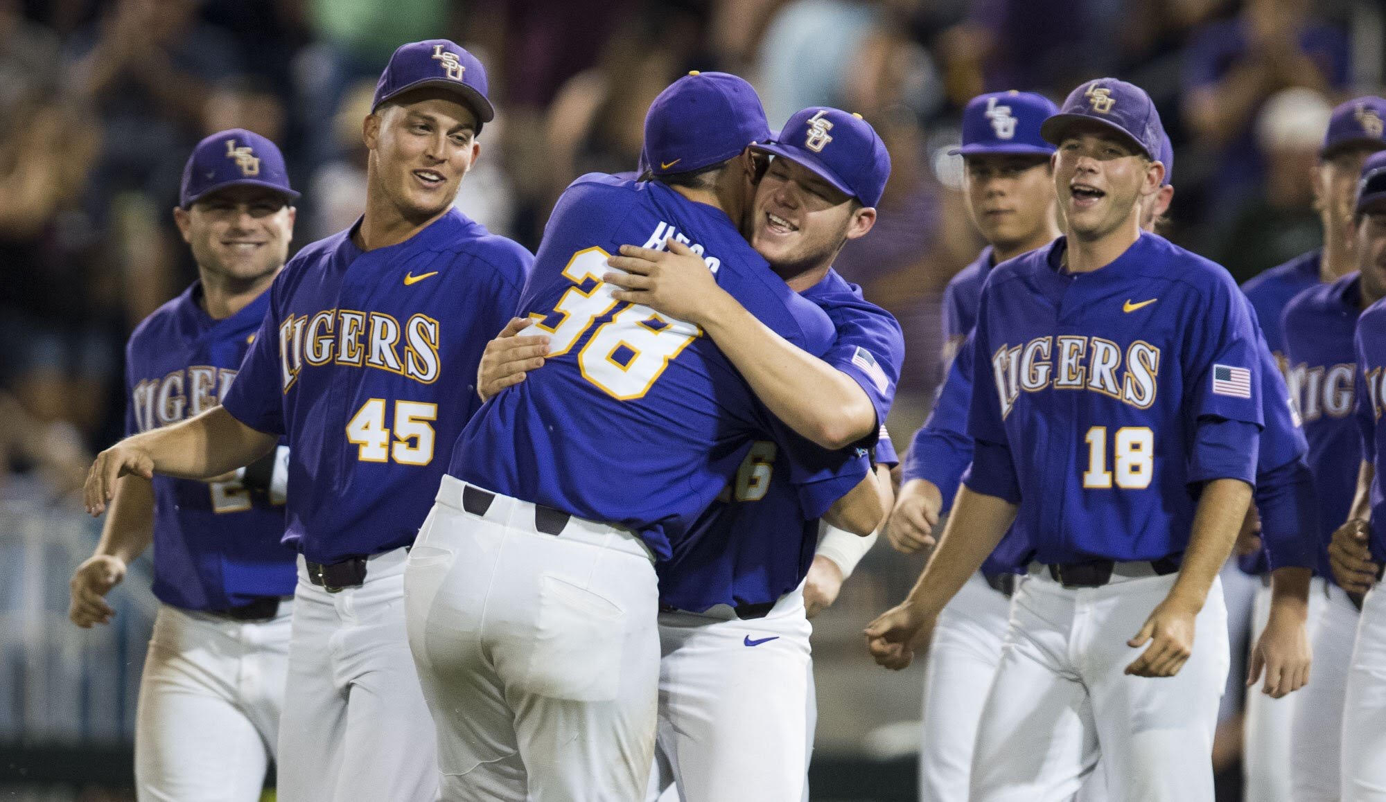 LSU fights off elimination, defeats Florida State 7-4