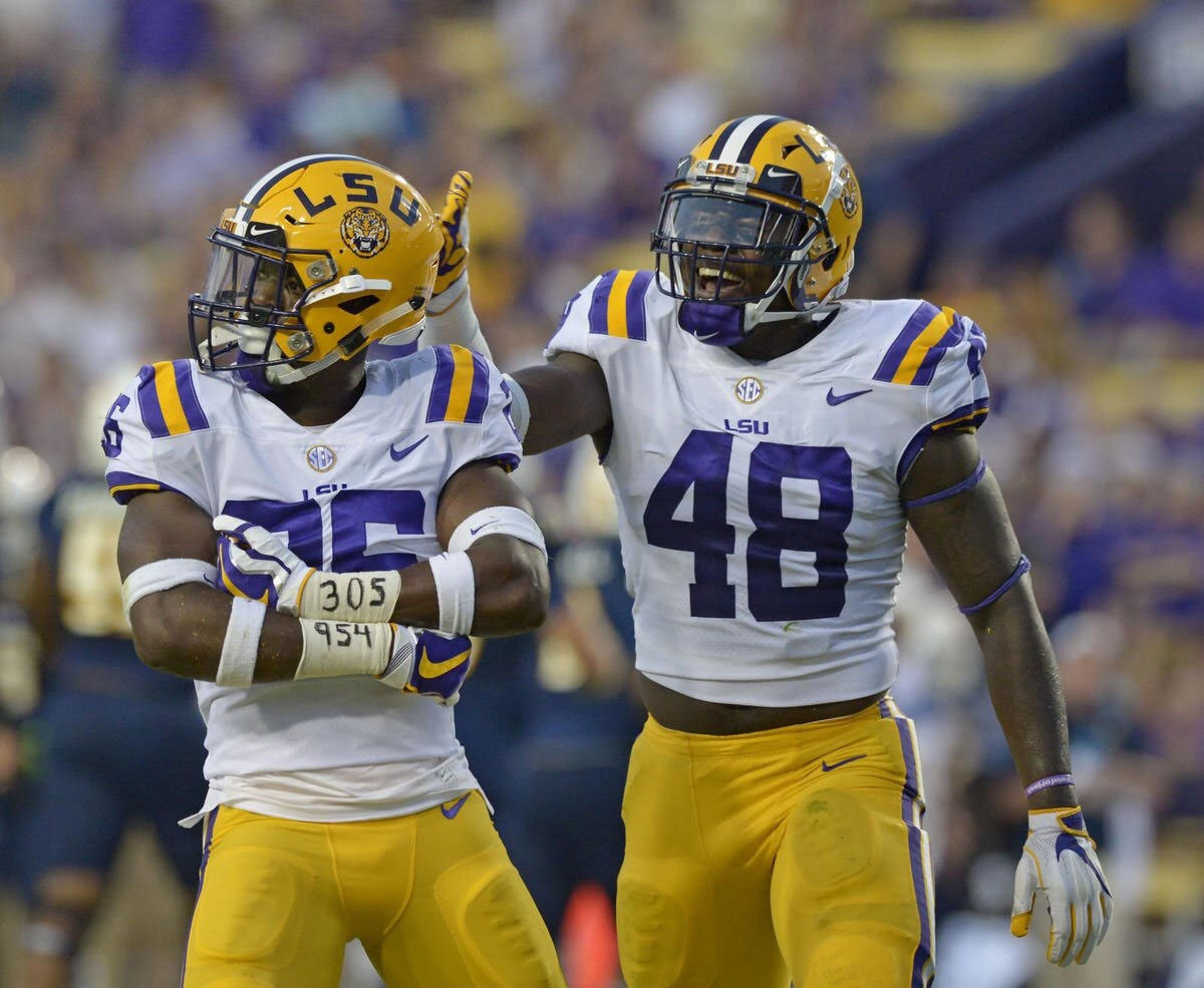 LSU routs Chattanooga 45-10 in home opener