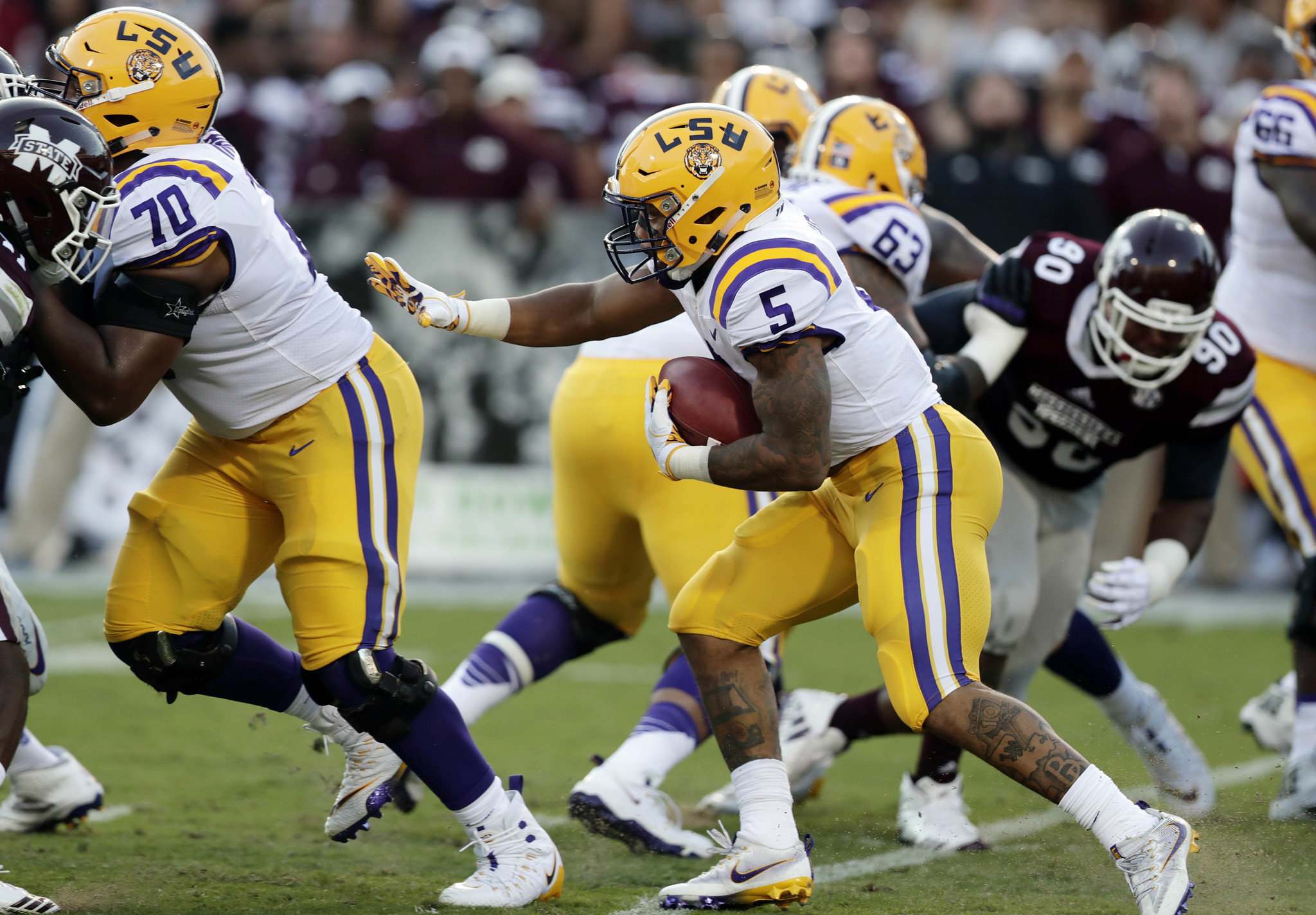 News: Derrius Guice cleared to play vs. Syracuse