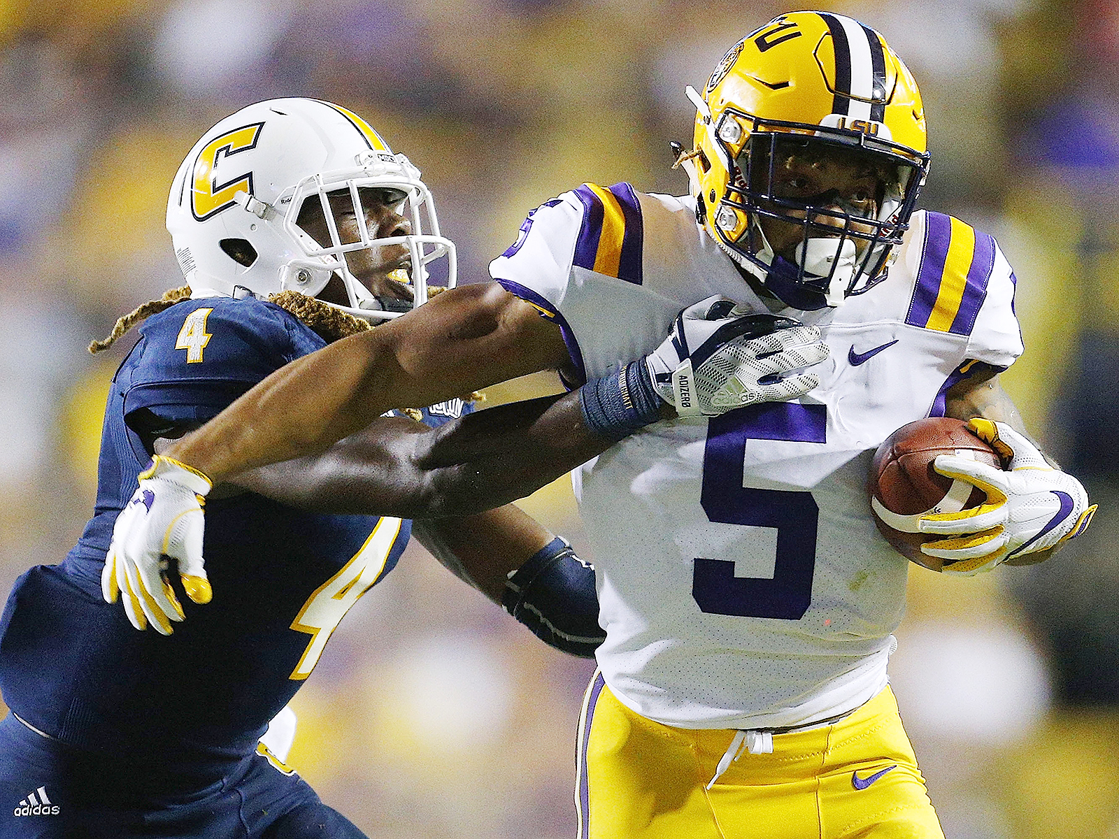 Feature: Derrius Guice carries more than just the LSU offense