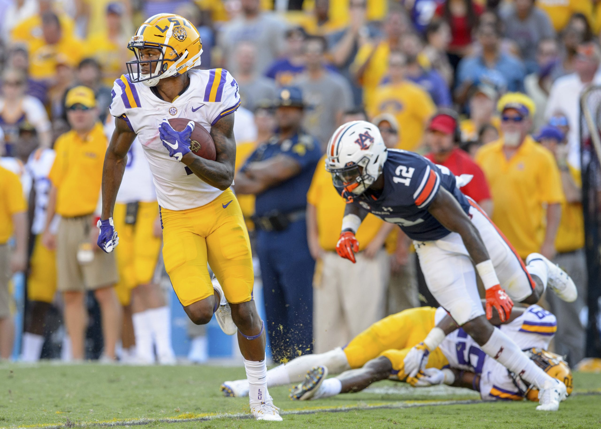 LSU mounts historic comeback to defeat Auburn