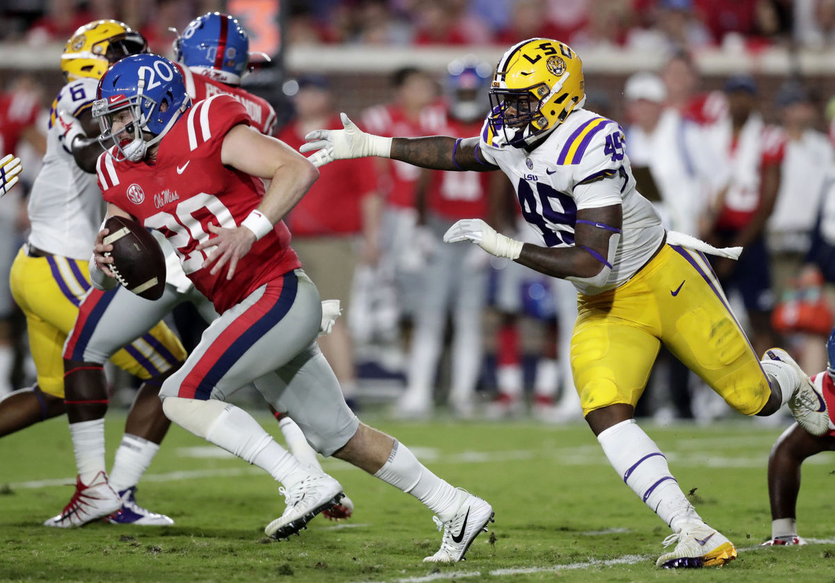 LSU runs over Ole Miss for third straight win