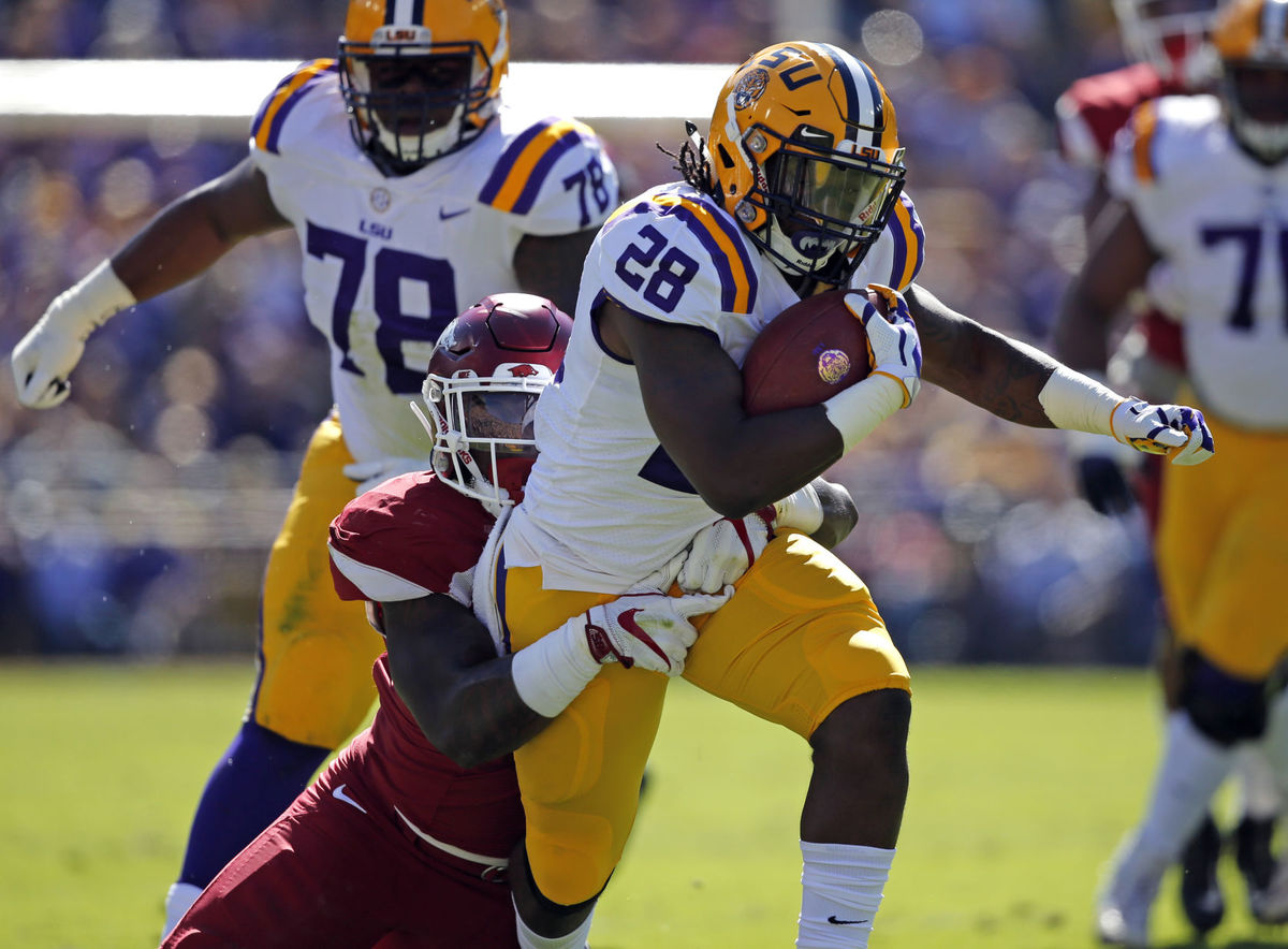 LSU cruises past Arkansas to claim Golden Boot
