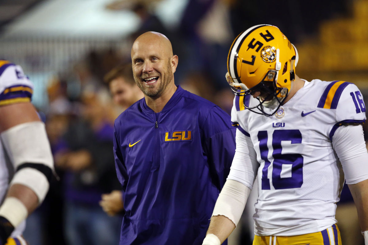 LSU and Matt Canada expected to part ways