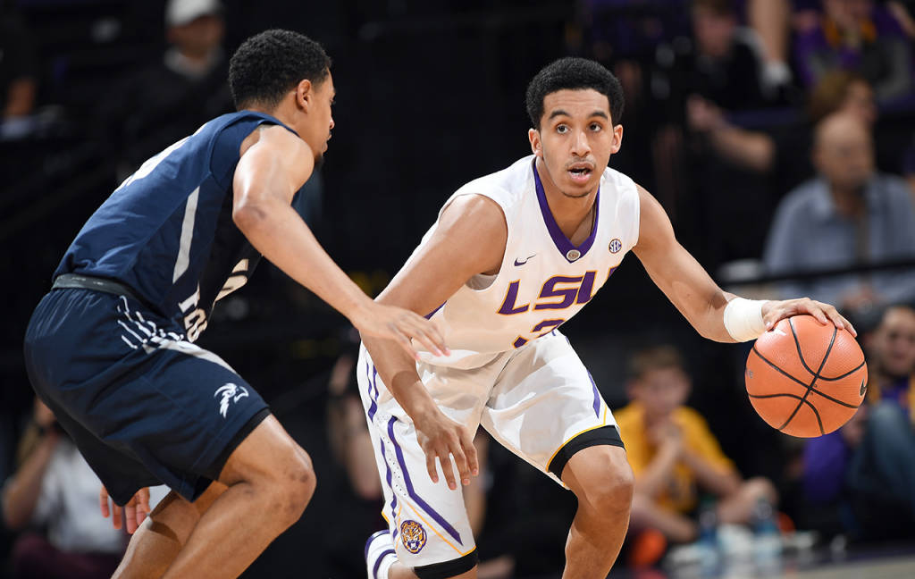 LSU routs North Florida at home before break