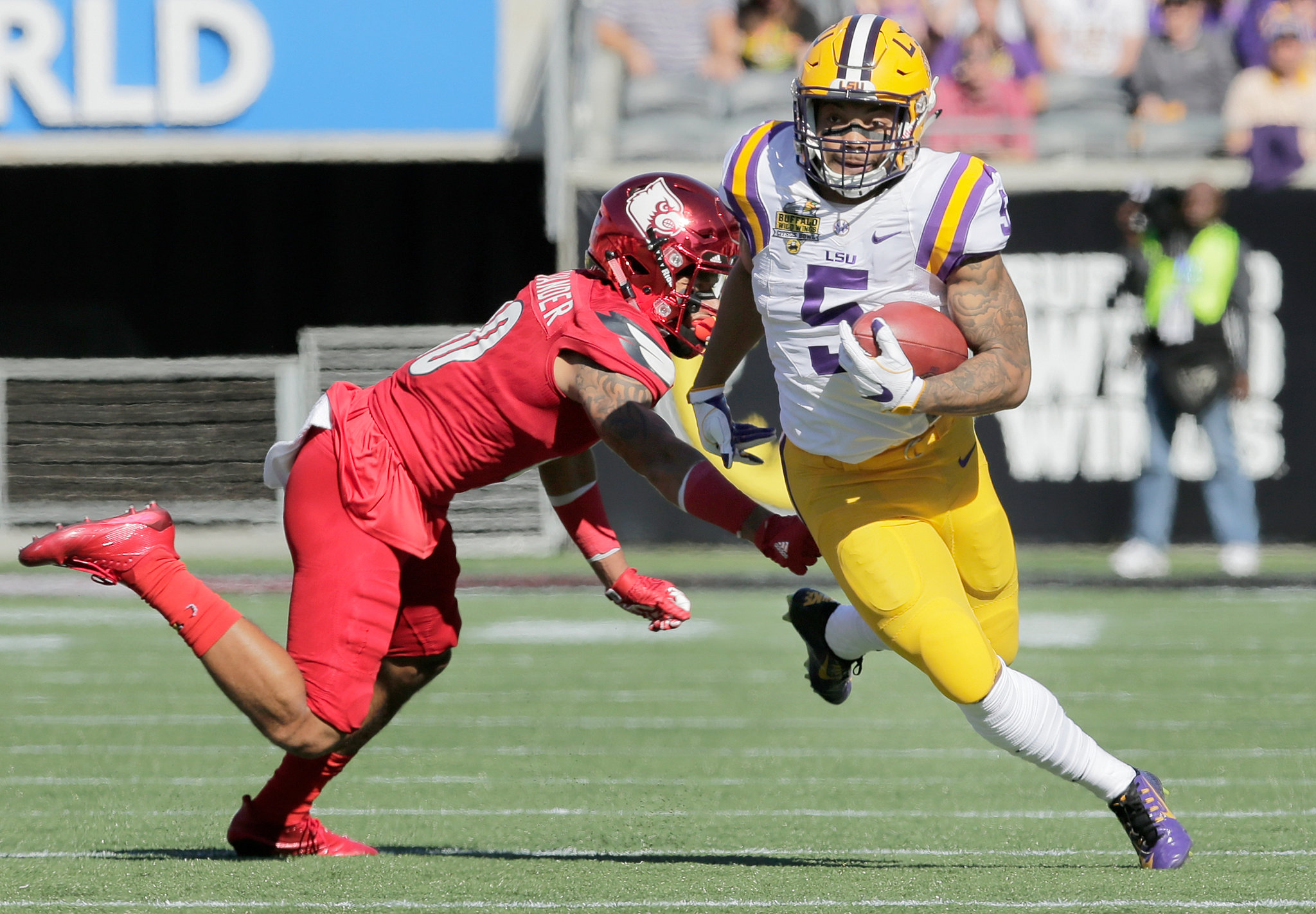 LSU to play Notre Dame in the Citrus Bowl