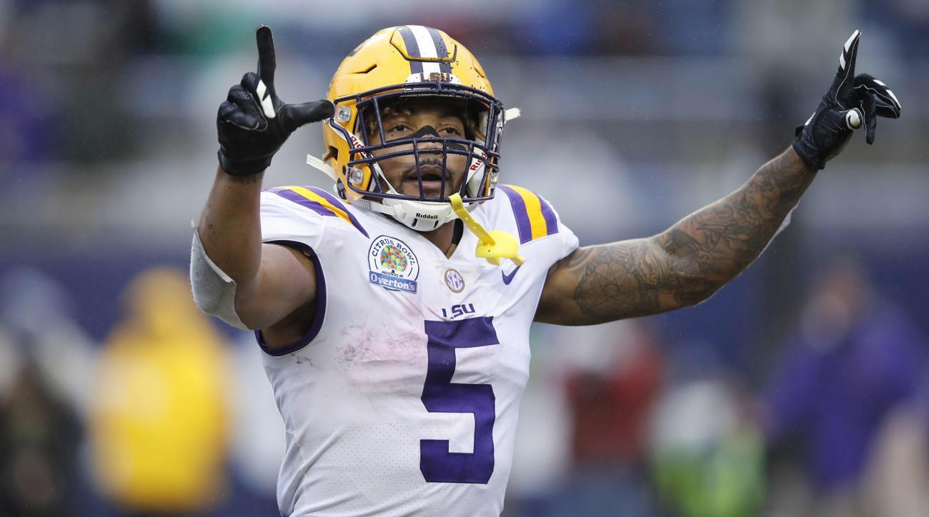 Derrius Guice declares for 2018 NFL Draft