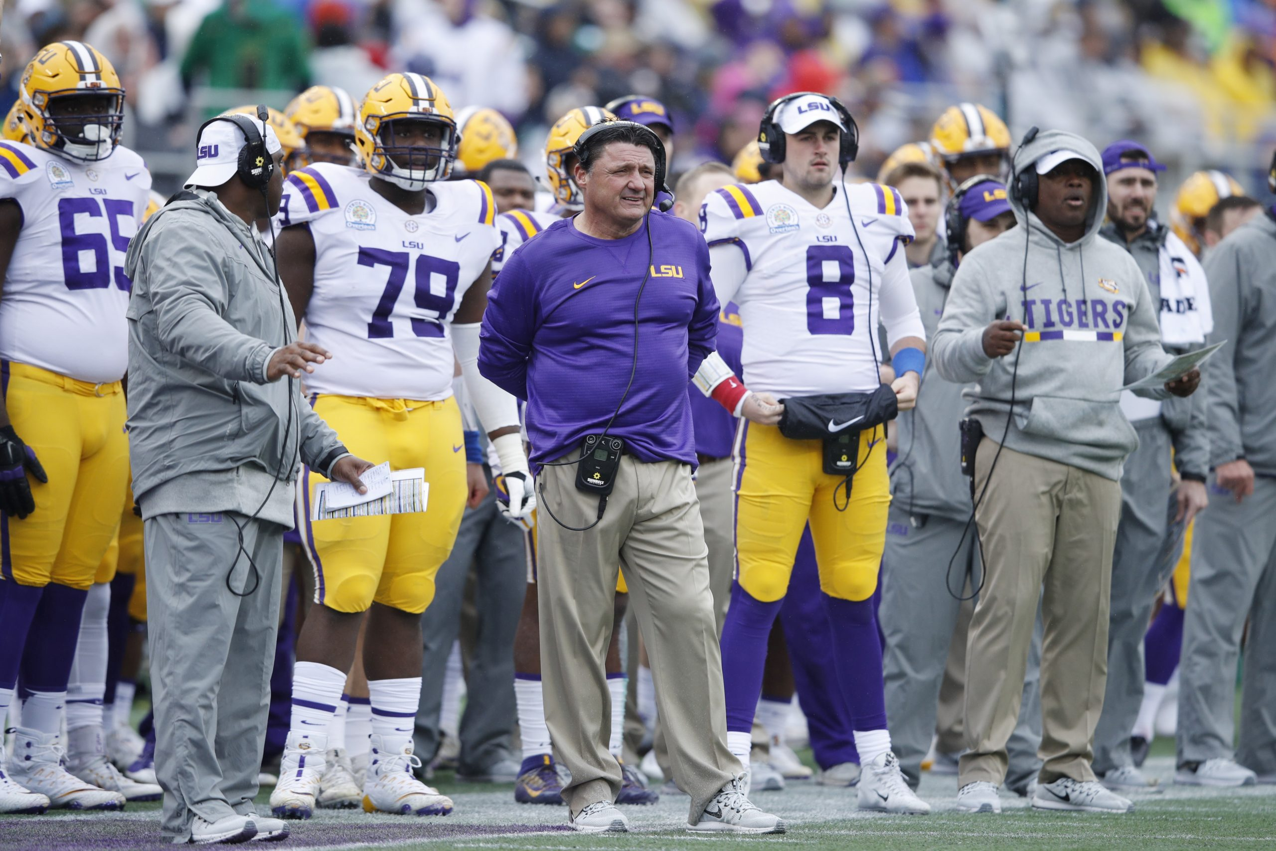 Coaching hires highlight career defining week for Ed Orgeron