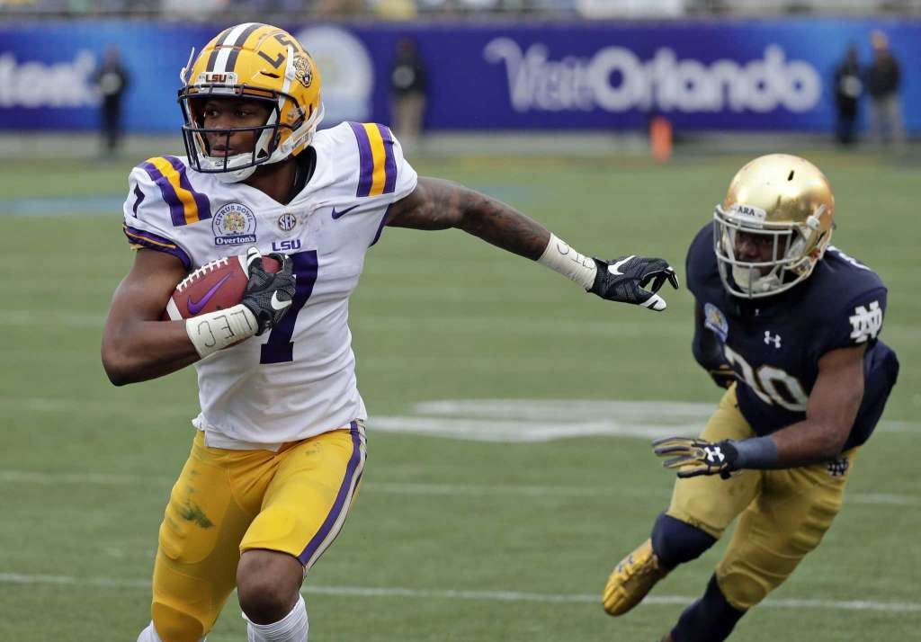 LSU stunned by Notre Dame's late touchdown