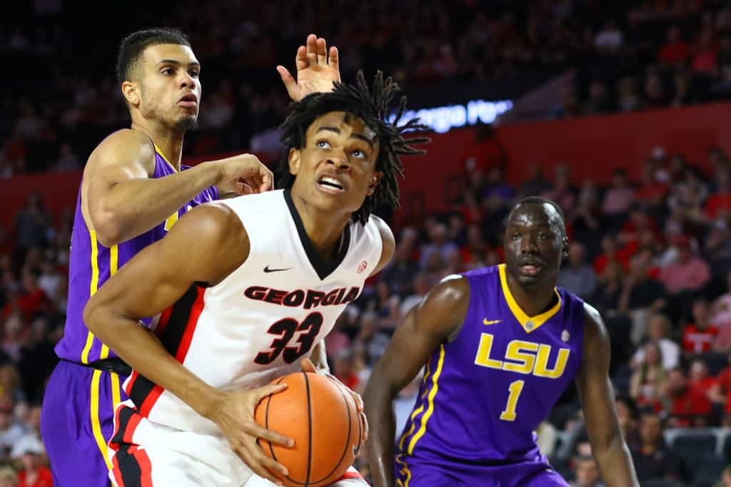 Basketball struggles to rebound against Georgia
