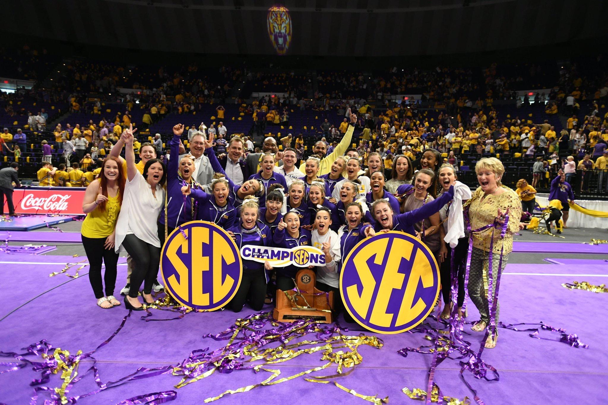 Gym wins second straight SEC regular-season title