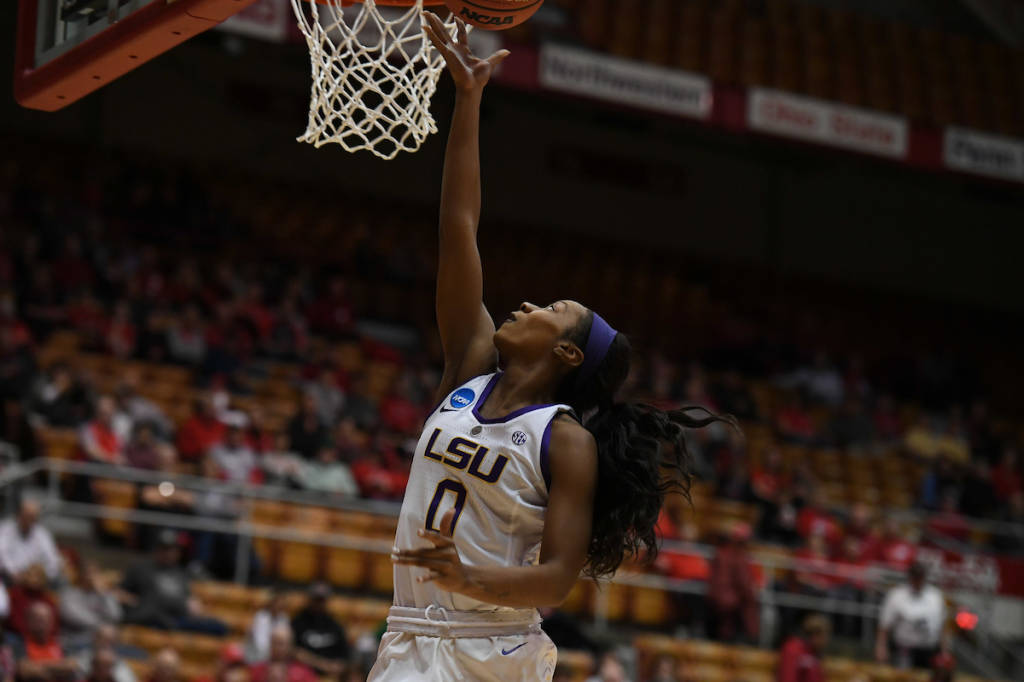 Lady Tigers fall in first round of NCAA Tournament