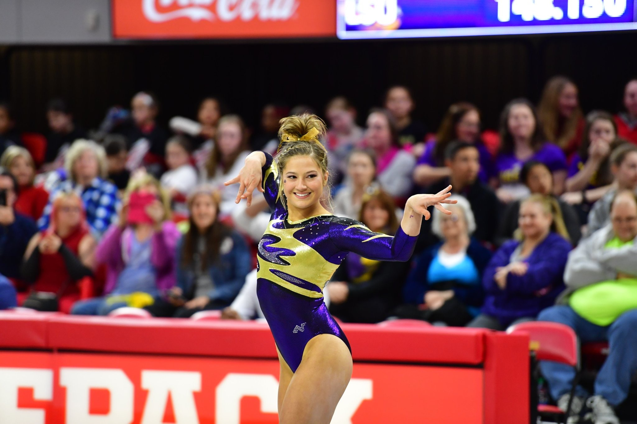 No. 2 Gym improves to 14-1 with win at NC State