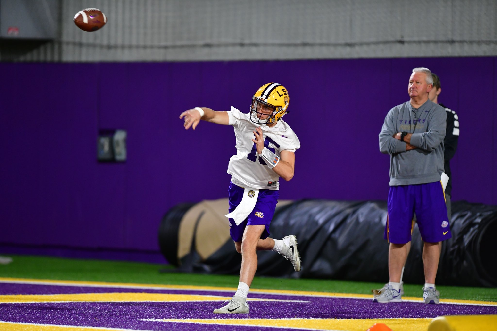 Takeaways from Day 1 of LSU spring practice