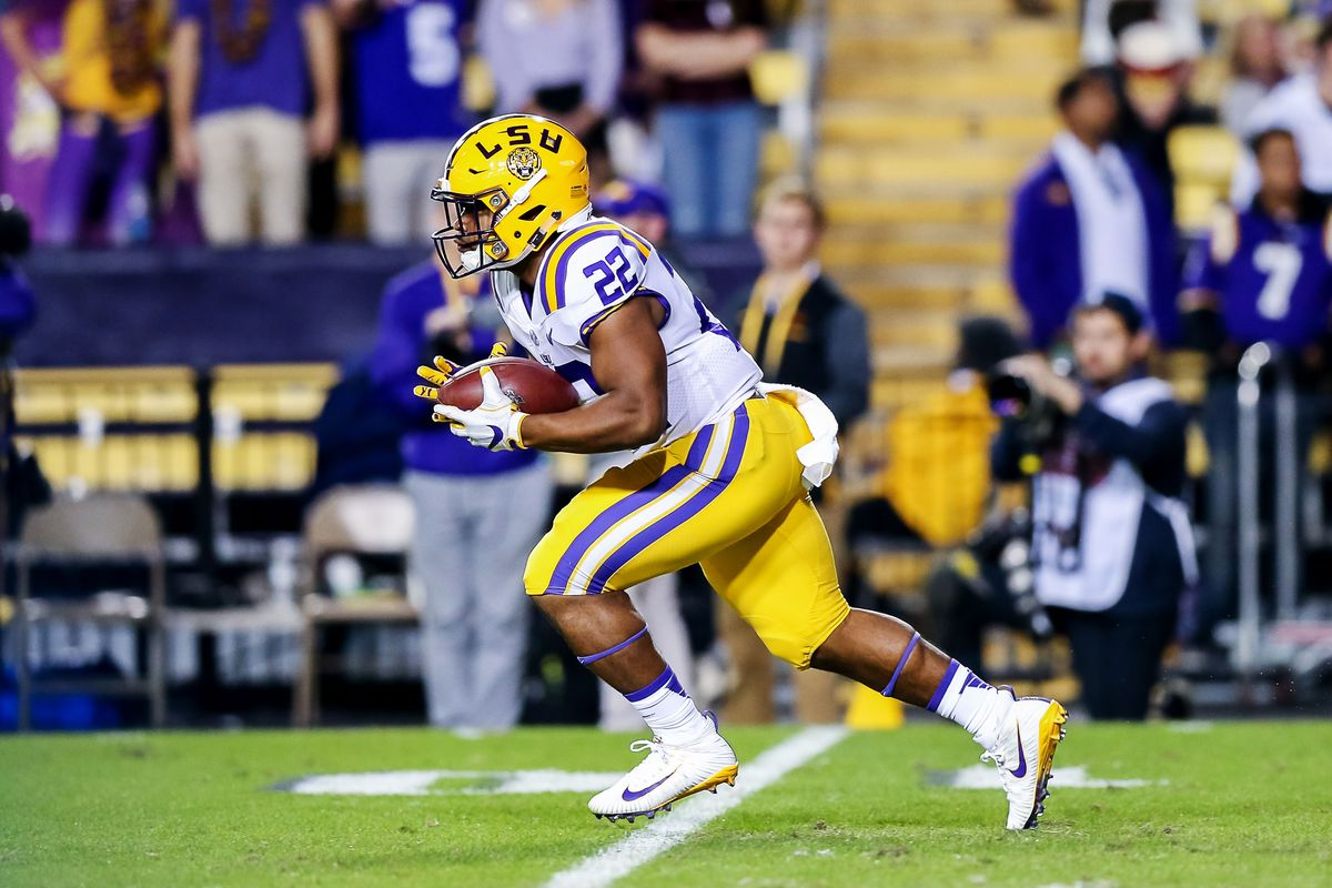 Who's the next star for LSU at running back?