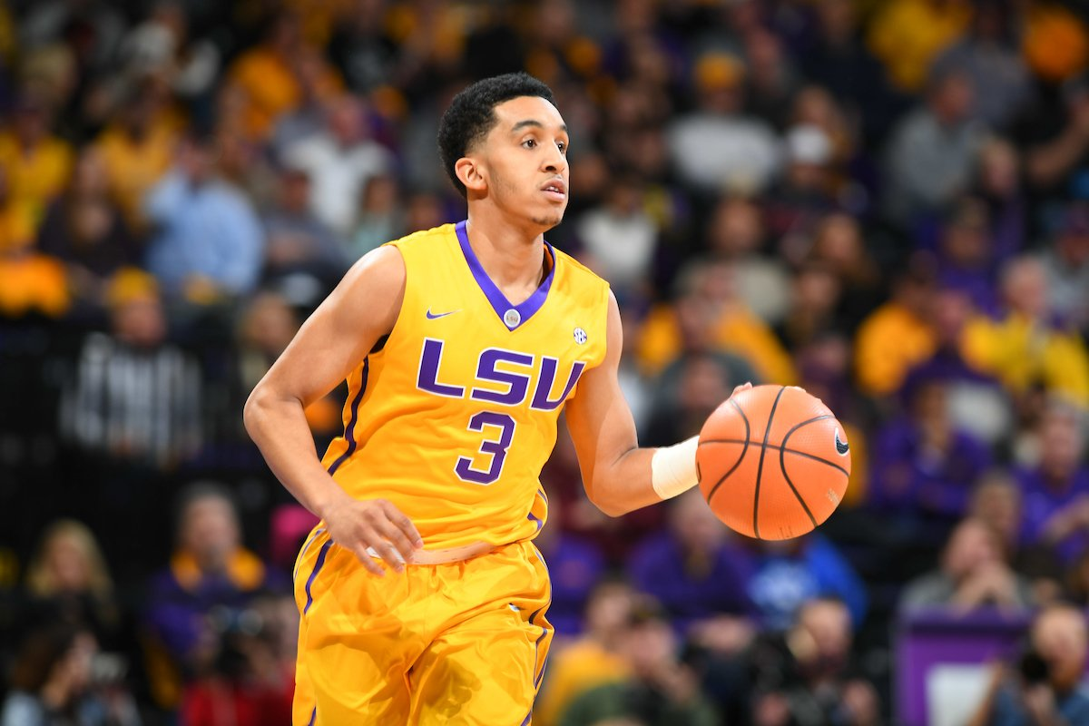 LSU point guard Tremont Waters to test NBA Draft