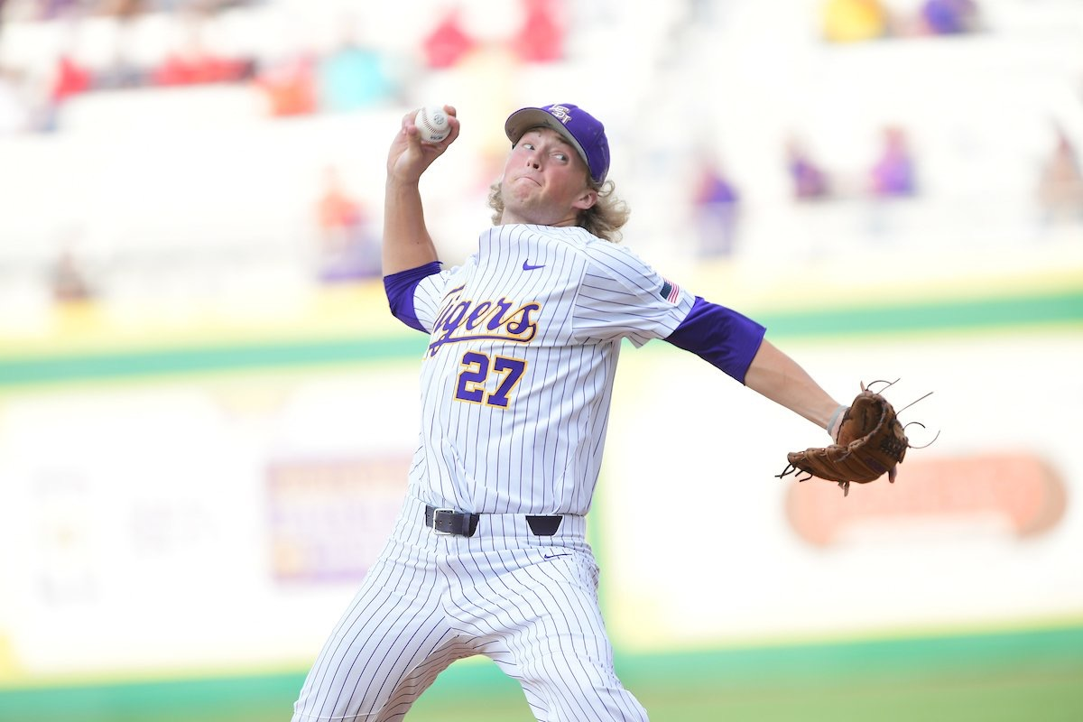 Baseball powers past Northwestern State, 9-5