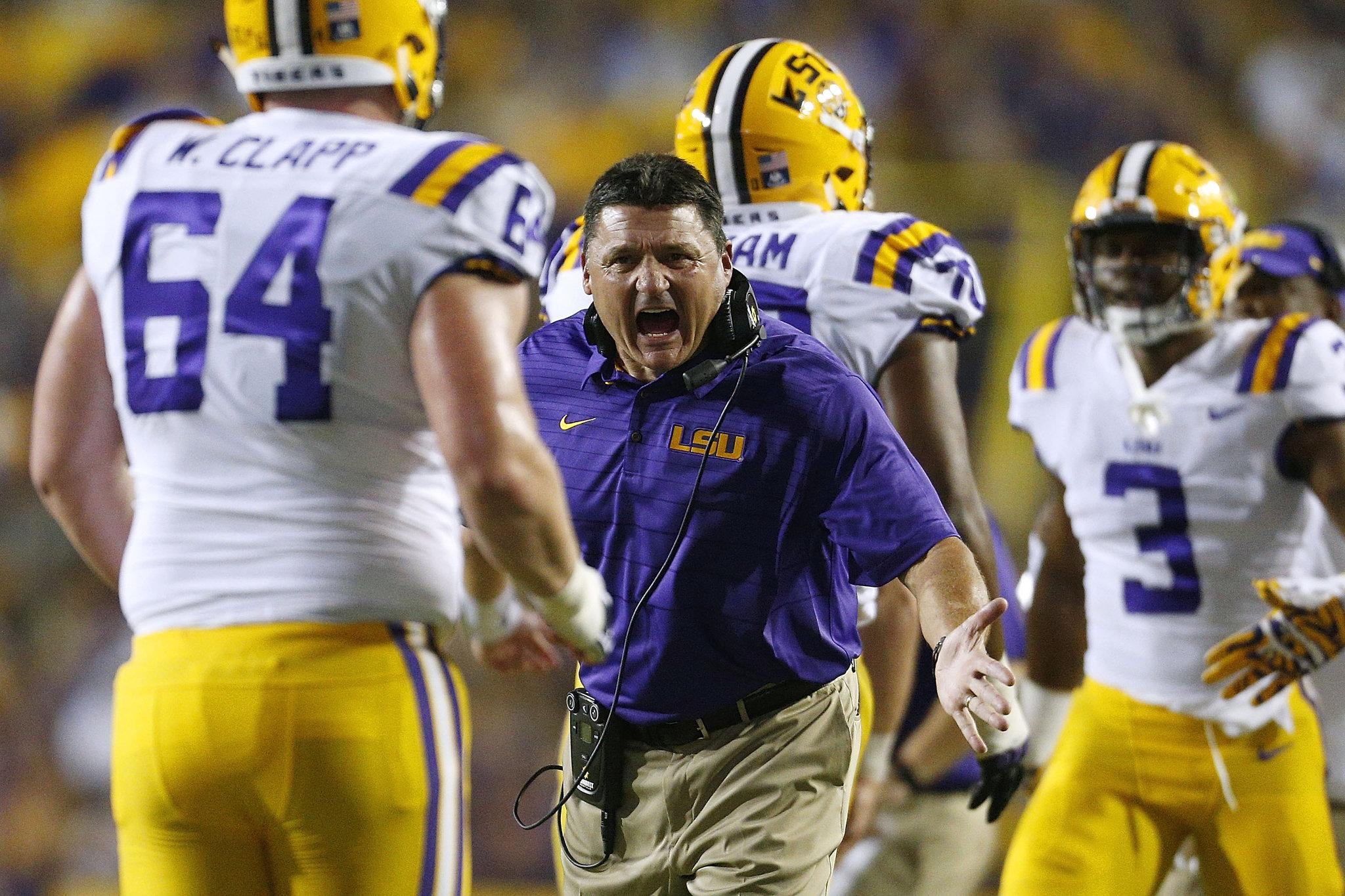 Louisiana First: Recruiting in the Orgeron Era