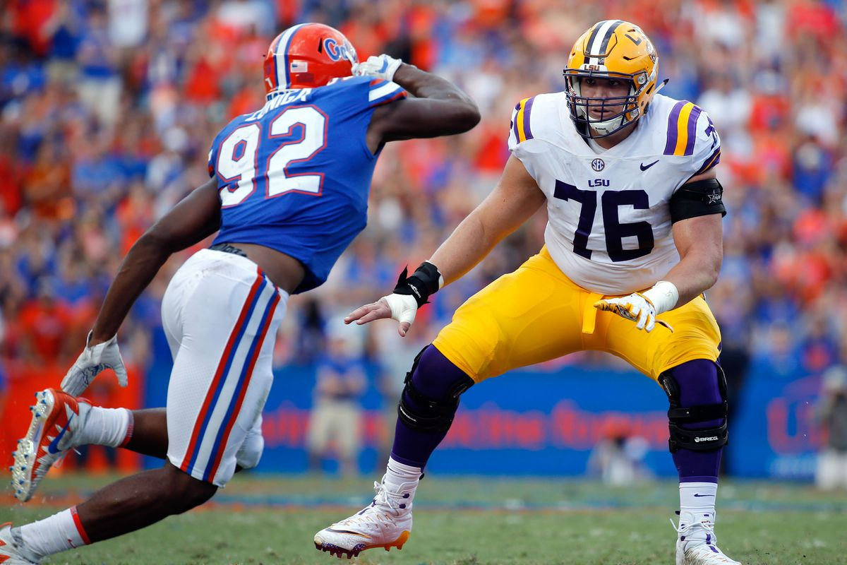 LSU's offensive line looking for breakout year