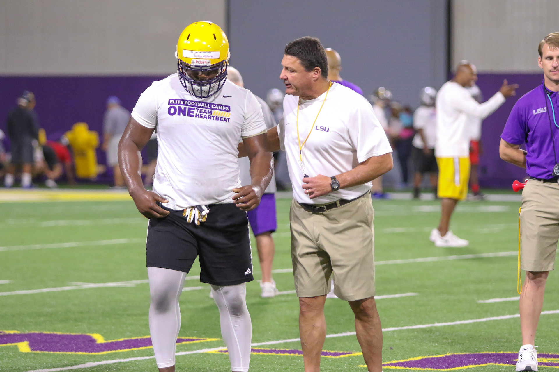 Top prospects on campus for LSU Elite Camp