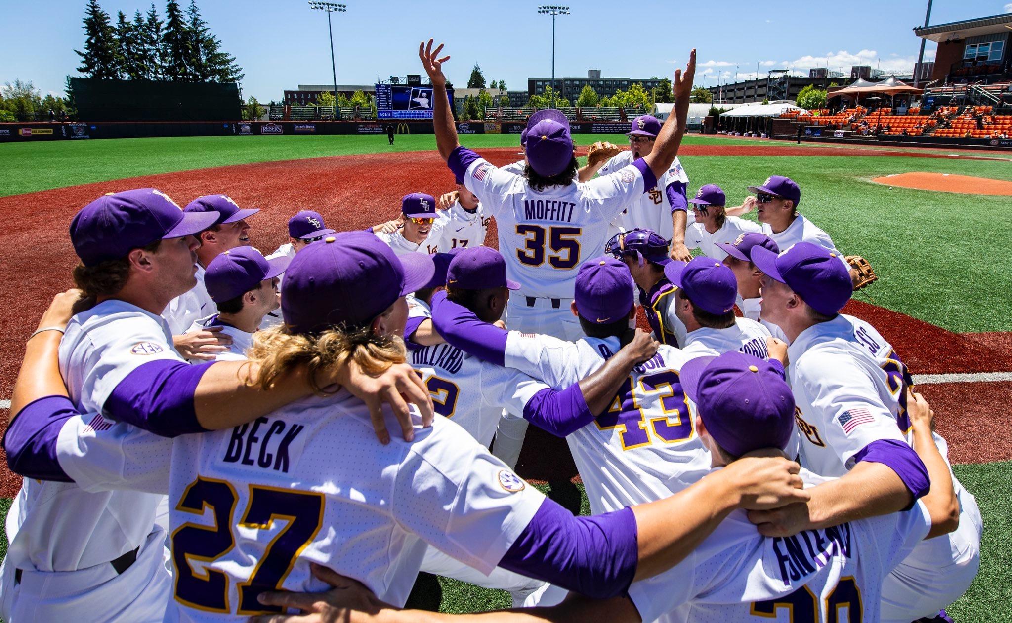 Keep up with LSU Baseball and the MLB Draft