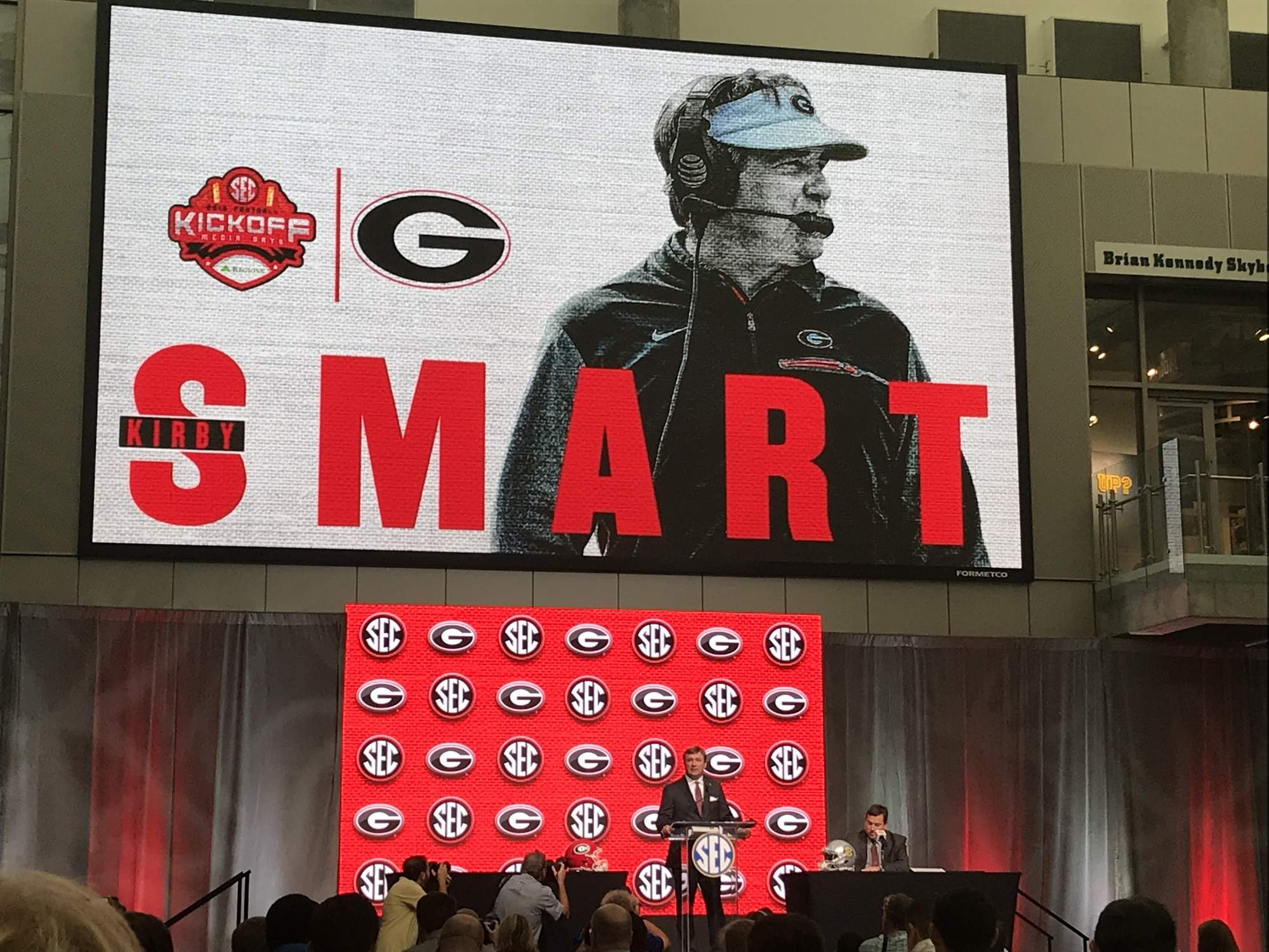 Kirby Smart, Georgia headline Day 2 in Atlanta