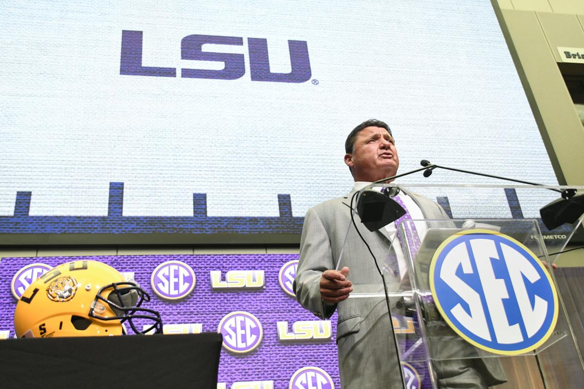 LSU takes center stage at 2018 SEC Media Days
