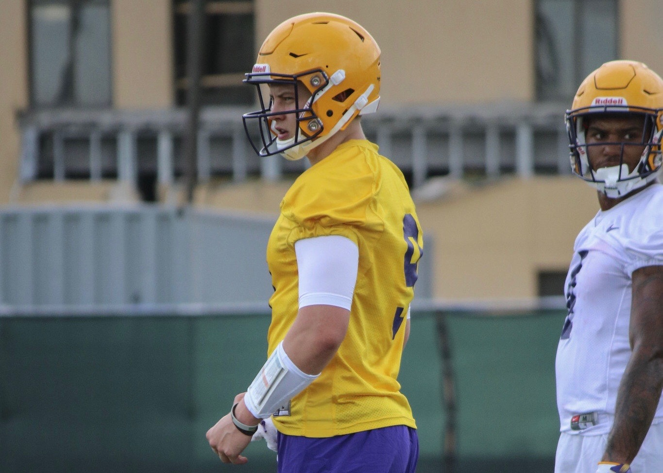 Football kicks off Day 1 of fall camp practices