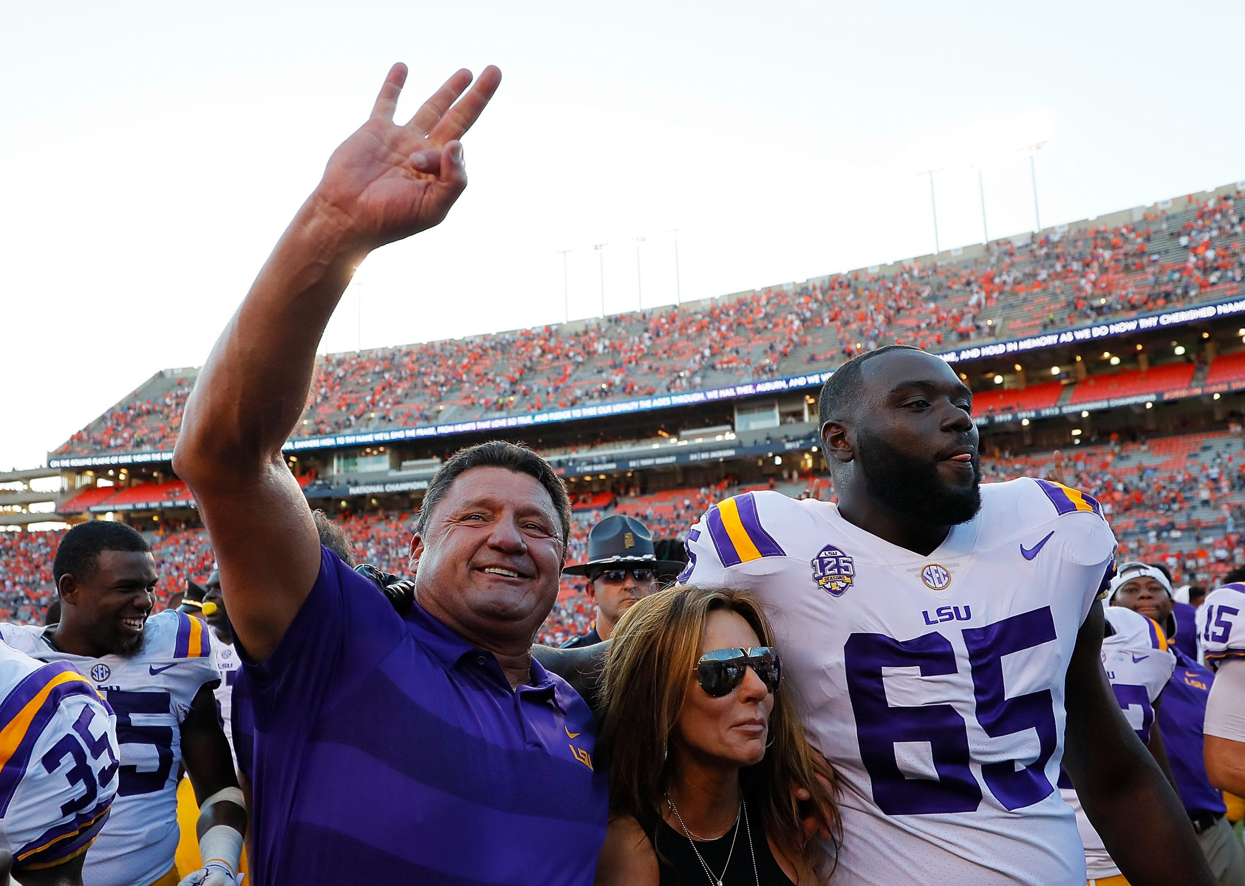 Ed Orgeron says No. 6 ranking will not be mentioned