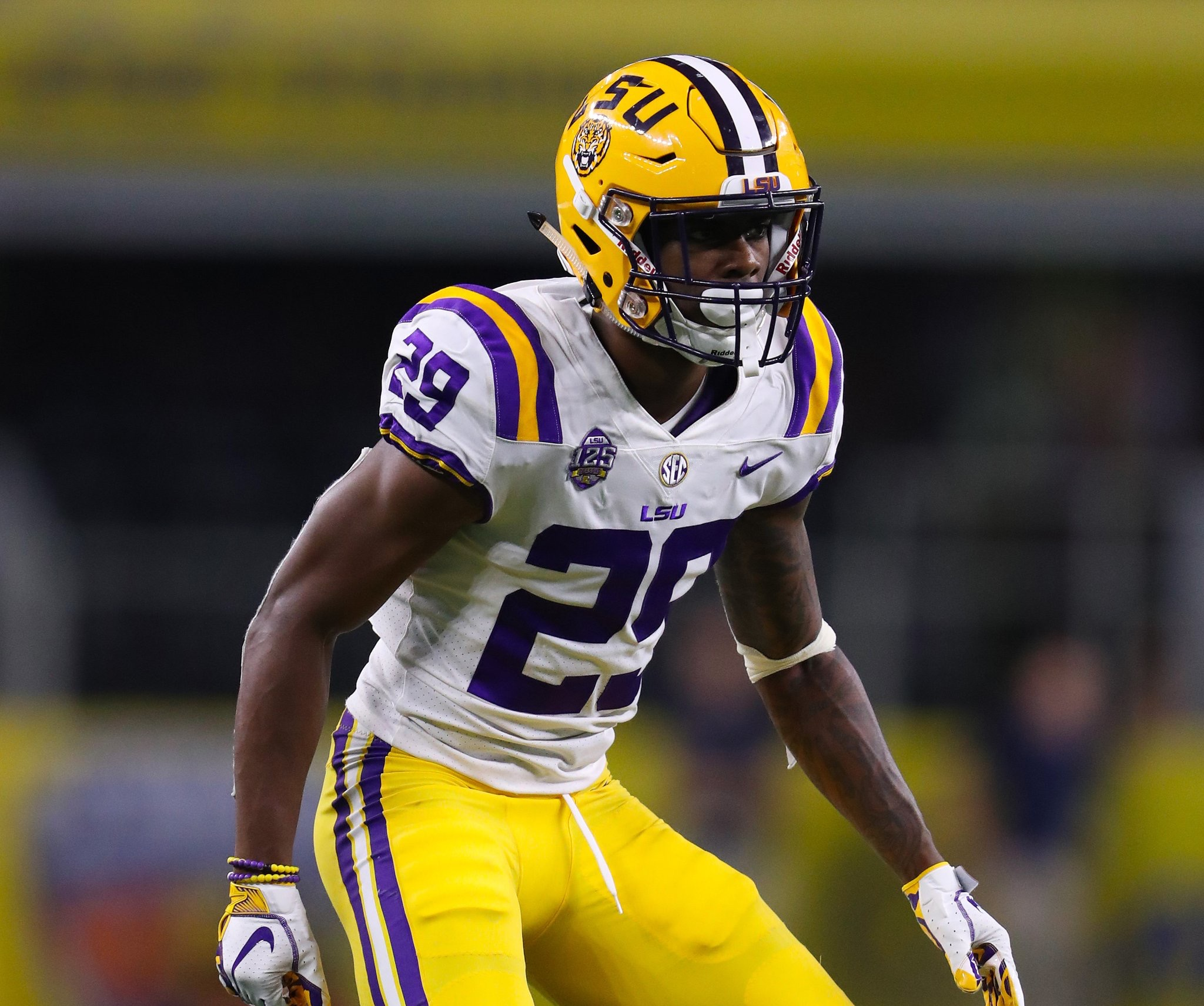LSU looking to contain A.J. Brown and D.K. Metcalf