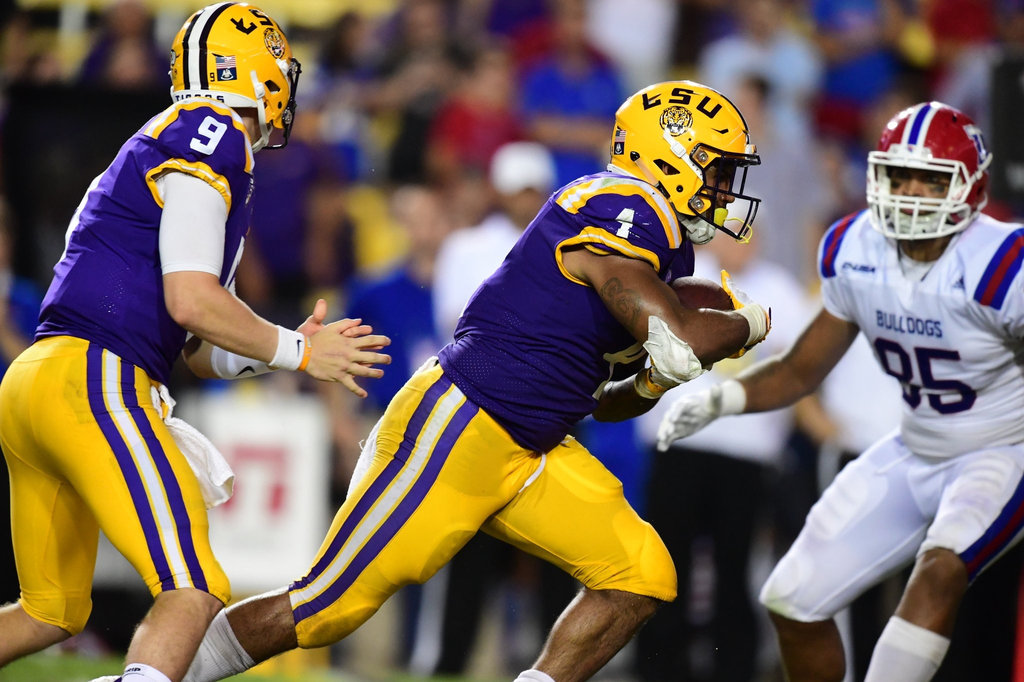 Football runs past Louisiana Tech, 38-21