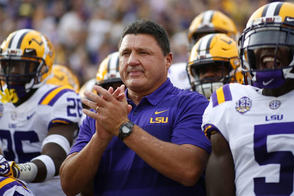LSU looking to prove more doubters wrong Saturday