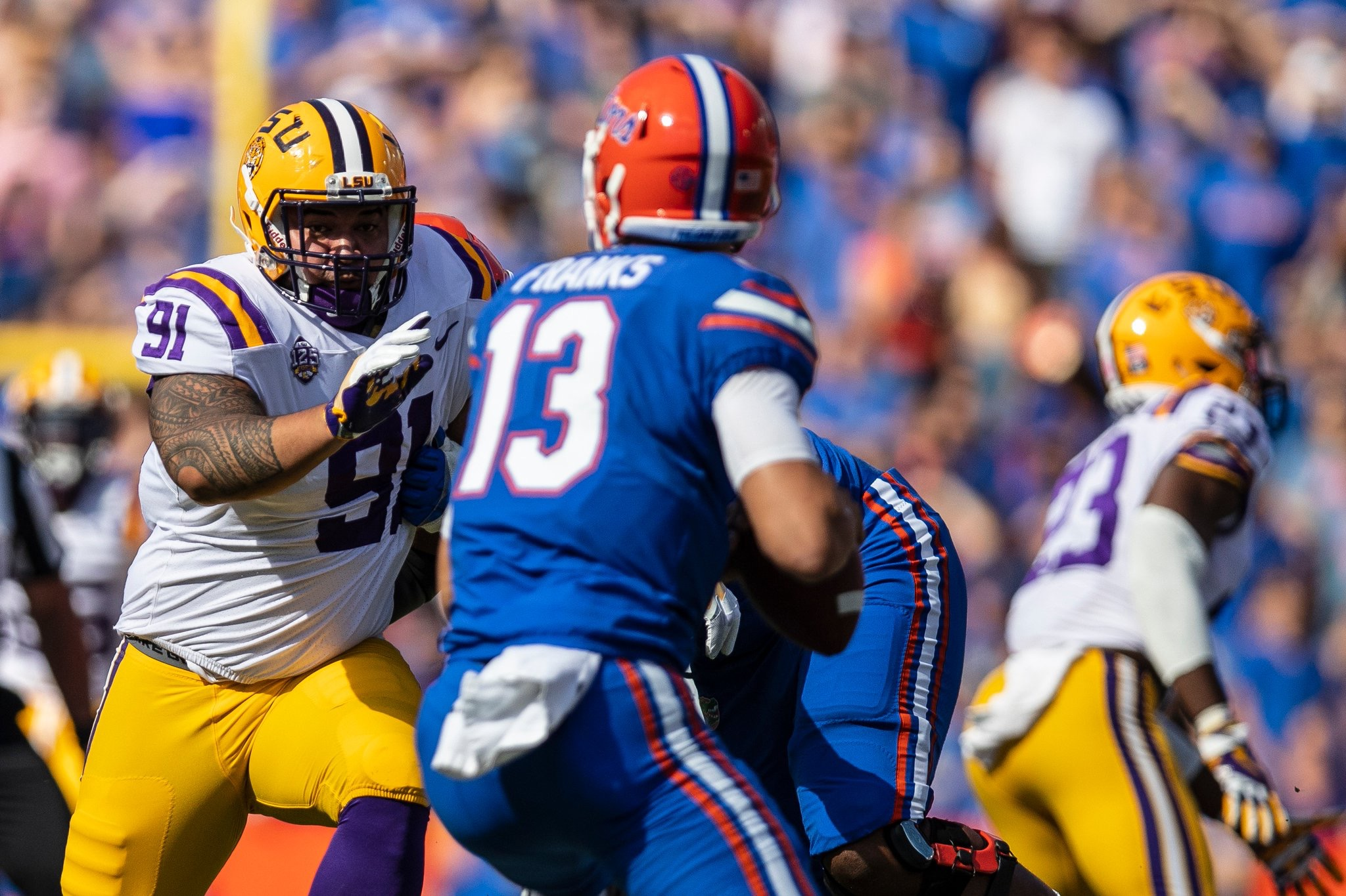LSU looking for season-defining win vs. Georgia