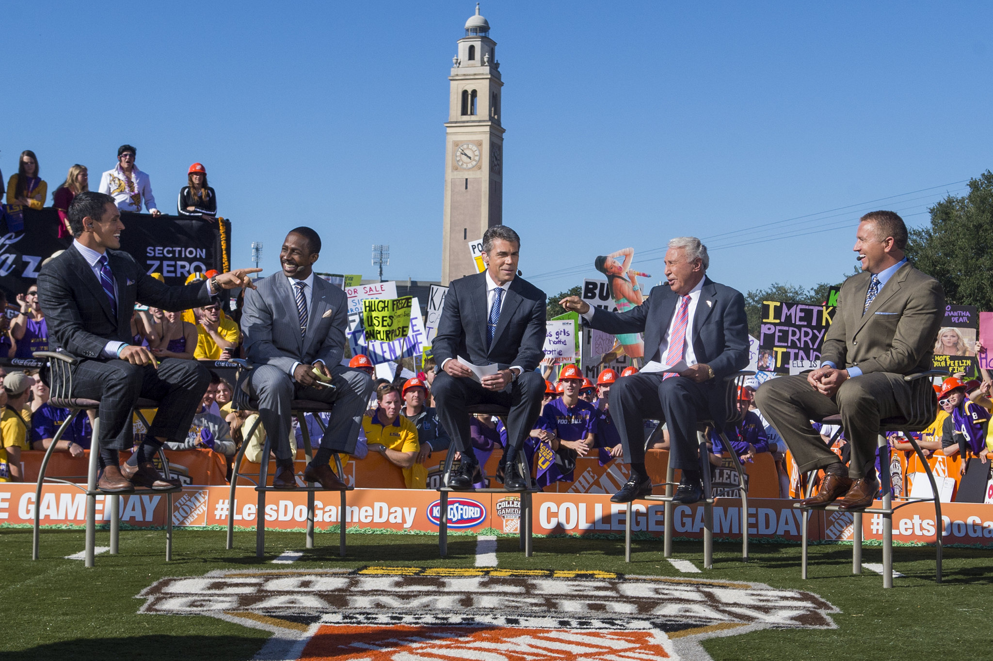 College GameDay headed to Baton Rouge