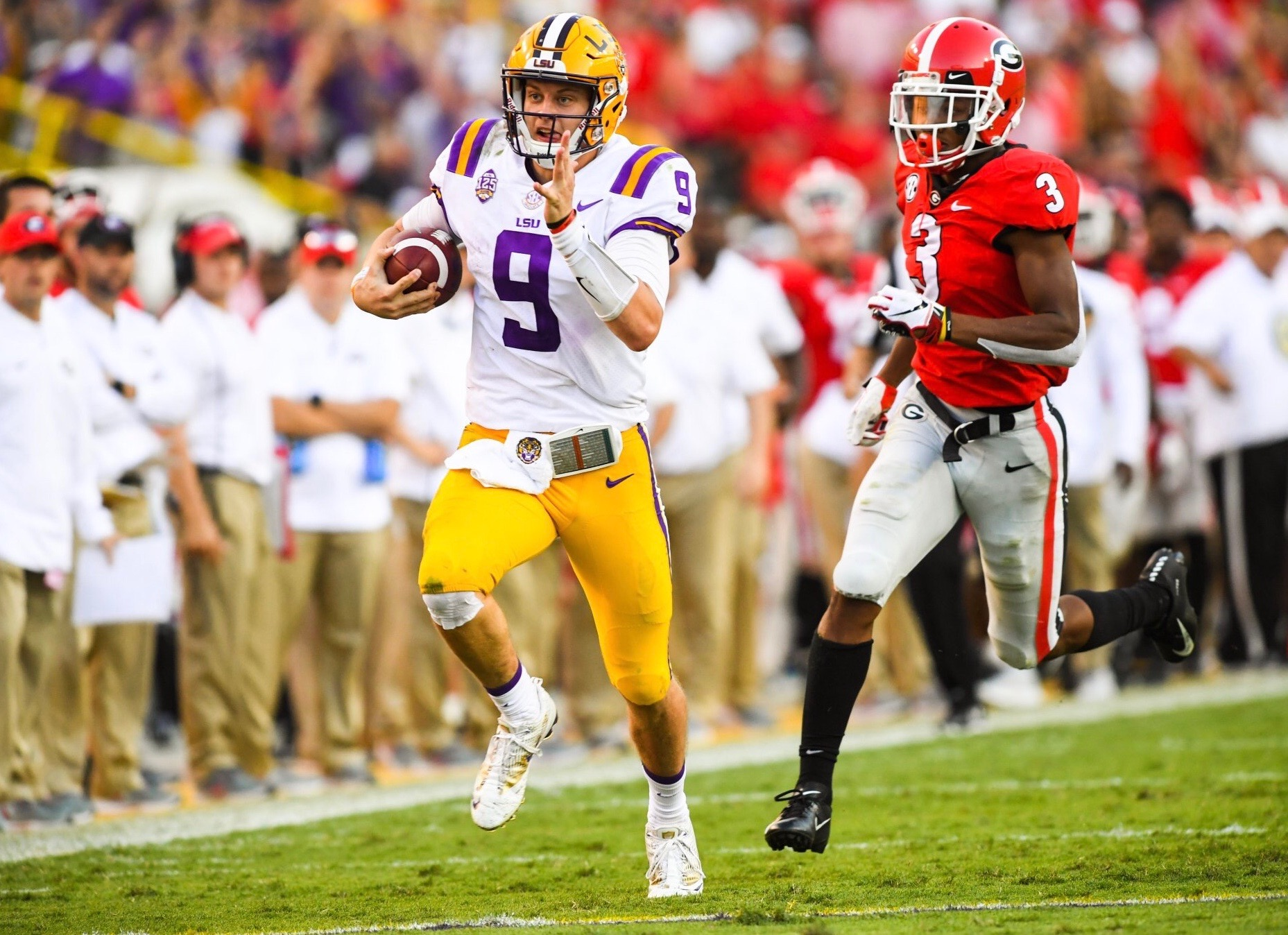 LSU rises back to No. 5 in latest AP poll