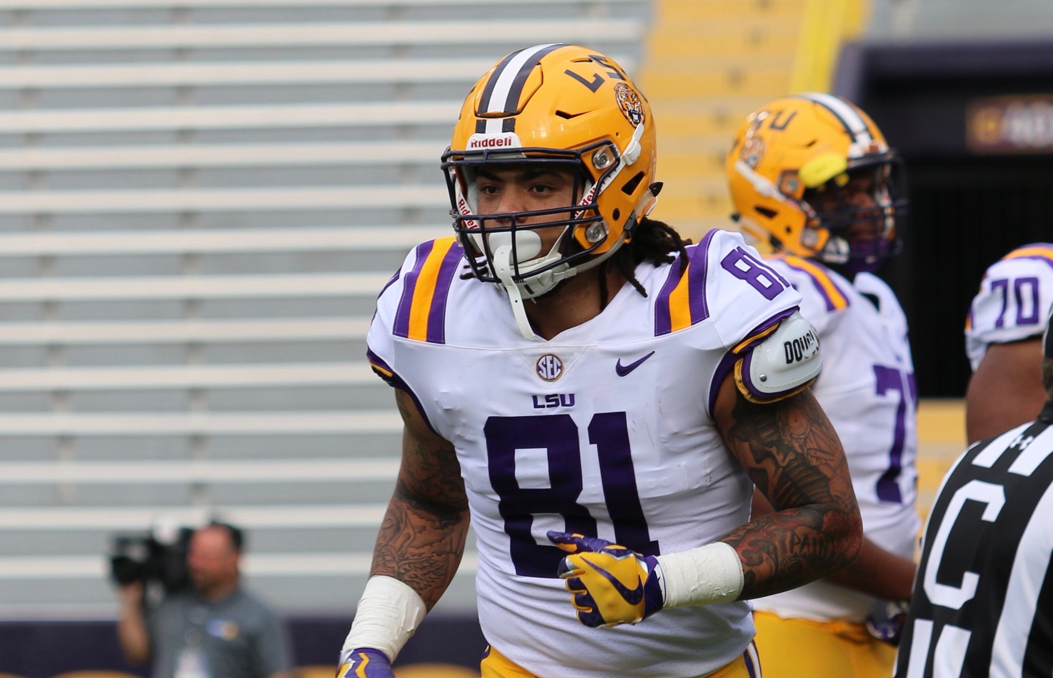 LSU TE Thaddeus Moss to make debut Saturday
