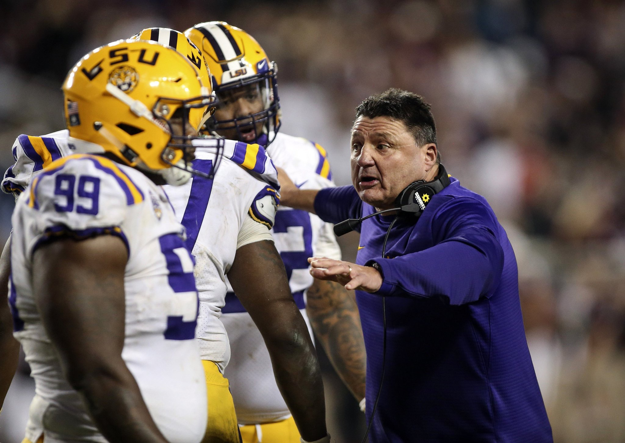 LSU bowl projections after Saturday's loss to A&M