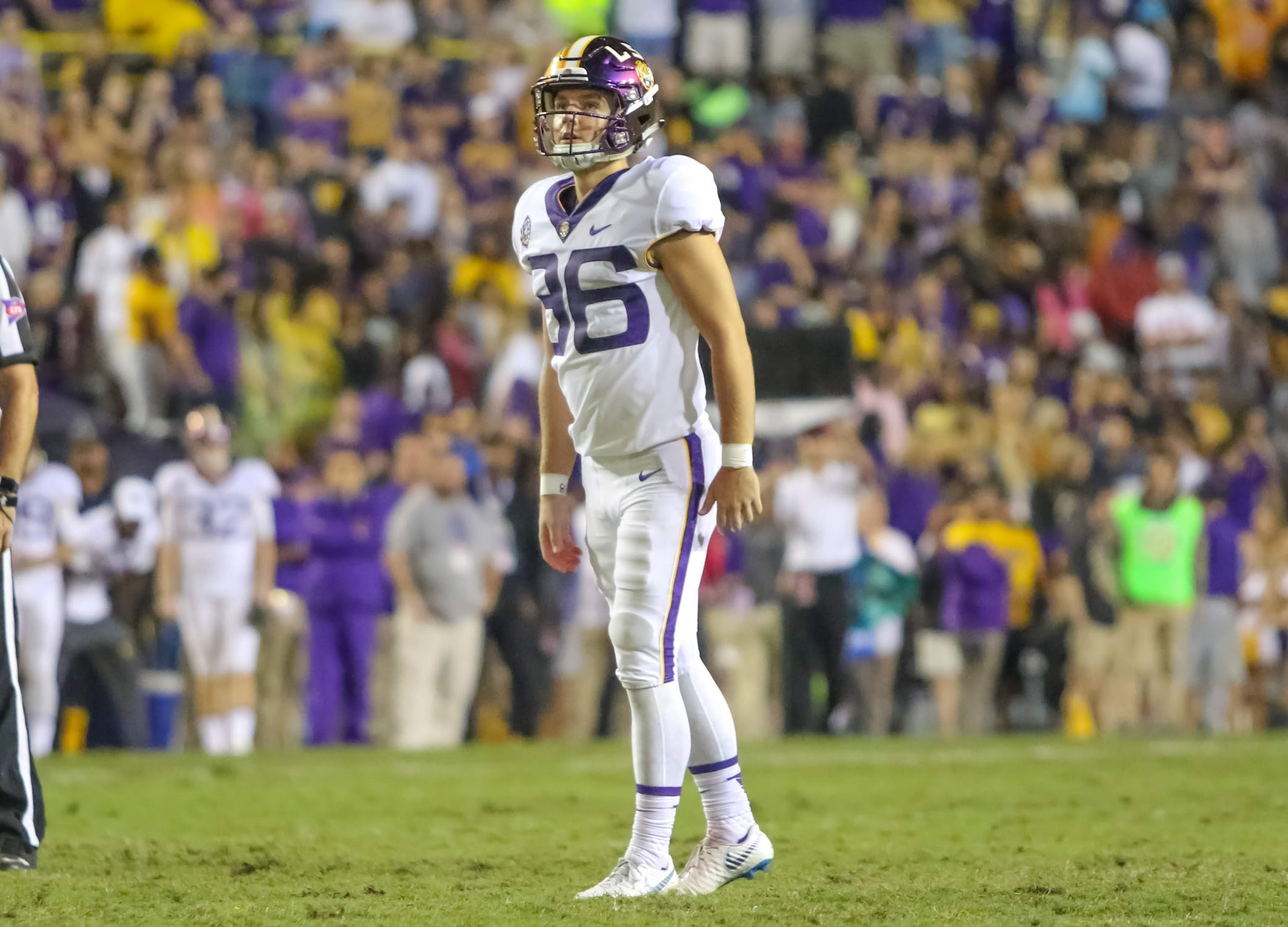 LSU kicker Cole Tracy misses out on Groza Award