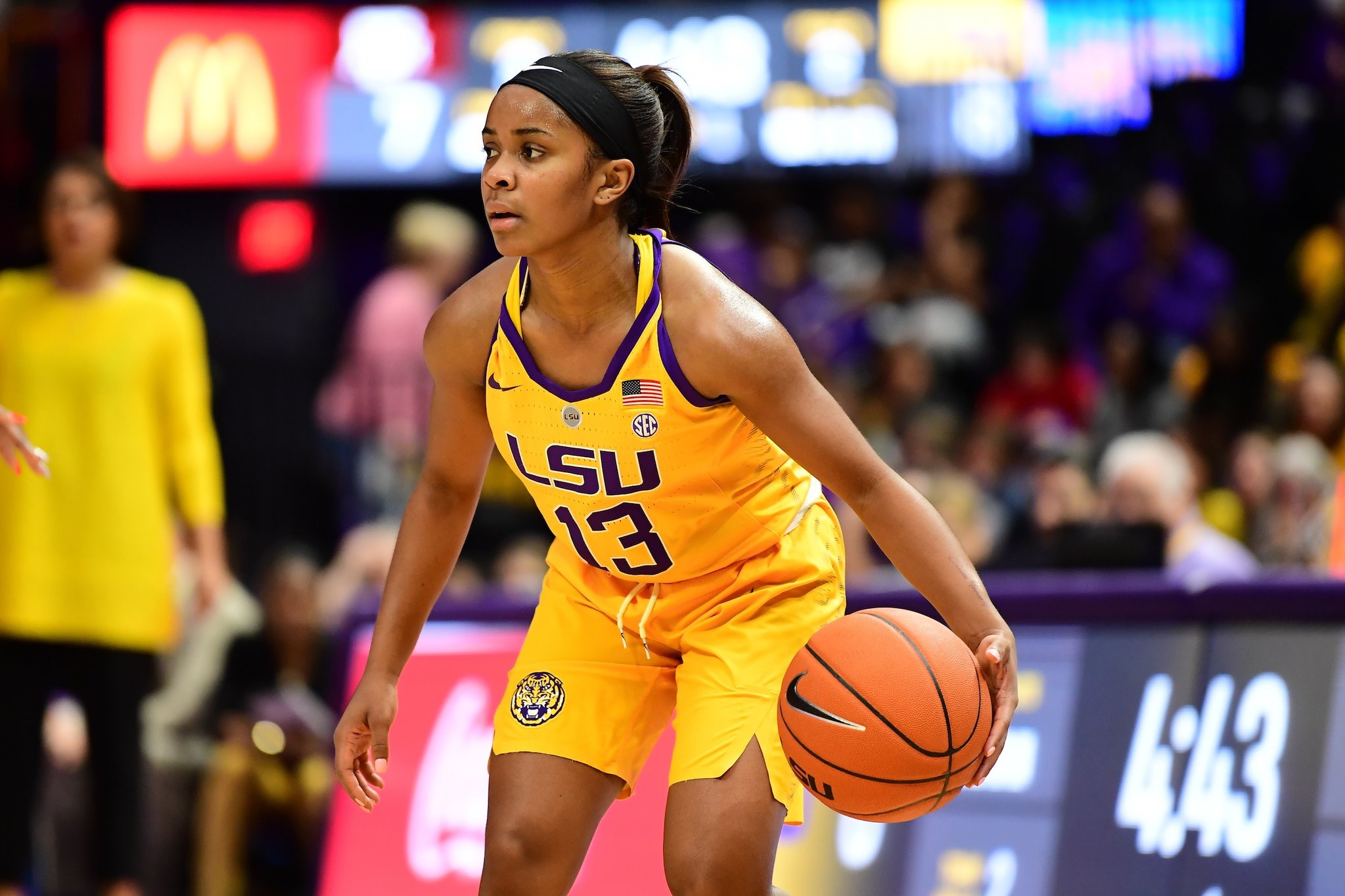Lady Tigers take down No. 21 Texas A&M, 63-52