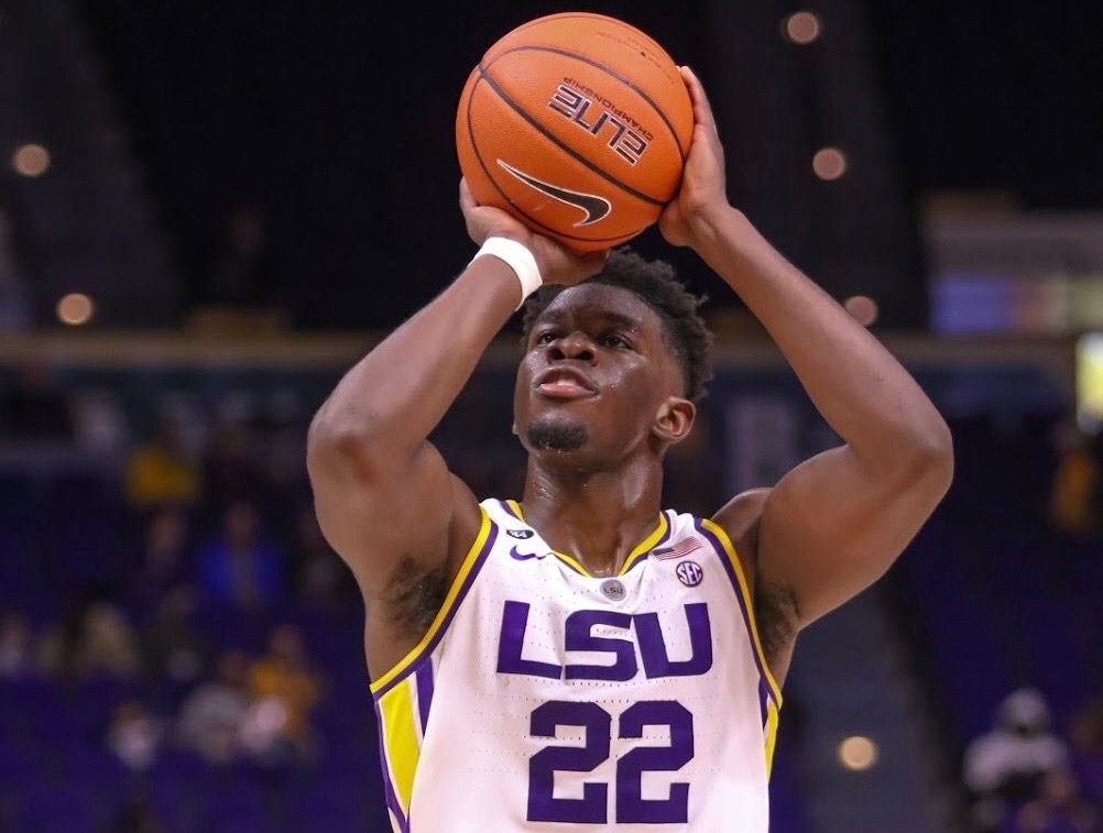 LSU forward Darius Days will play vs. Ole Miss