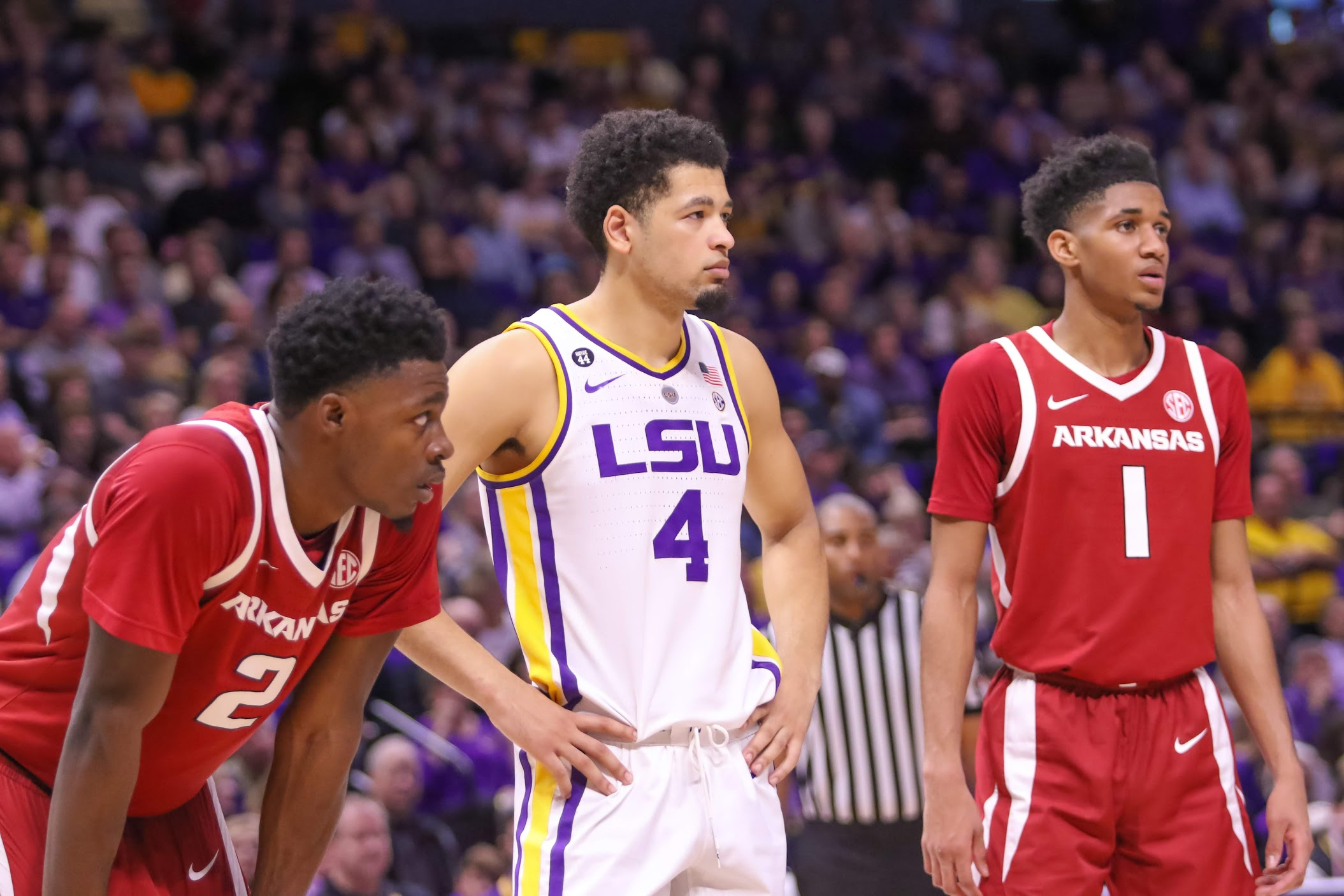 LSU bracing for important three-game stretch