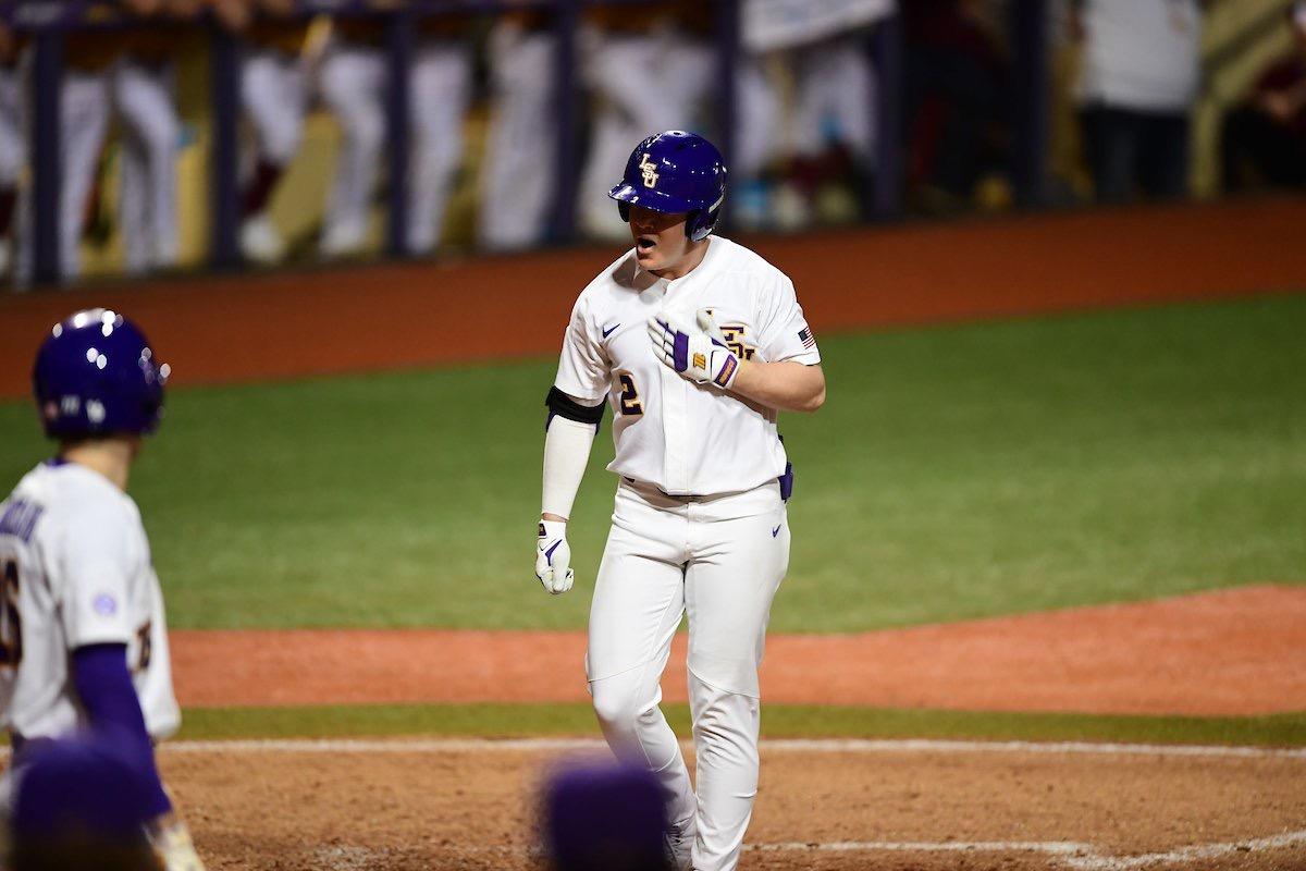 Baseball wins 12-7 vs. ULM on Opening Night