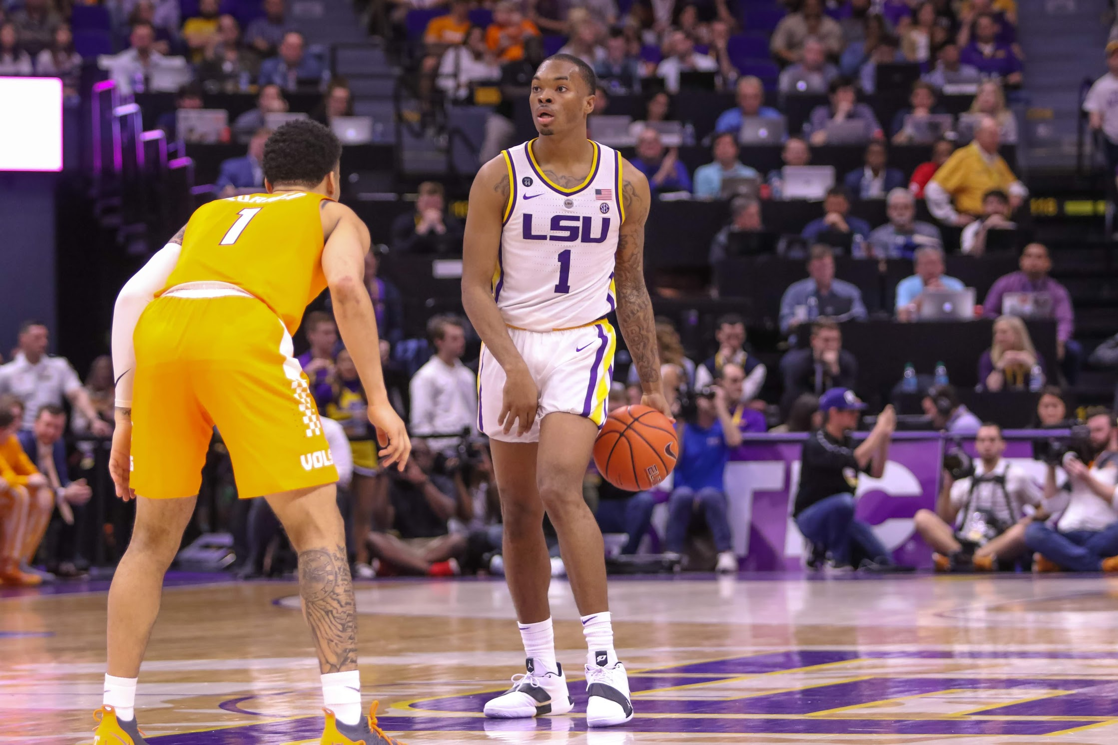 LSU remains at No. 13 in the latest AP Poll